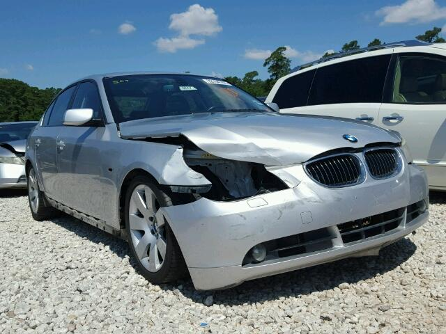 Sold 2007 BMW 5 SERIES salvage car