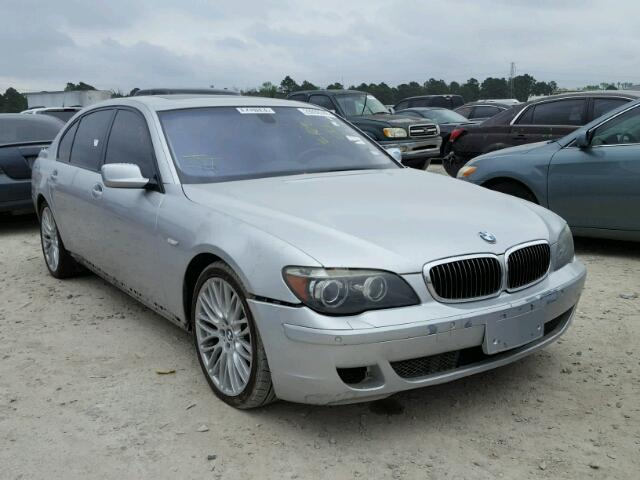 Sold 2007 BMW 7 SERIES salvage car