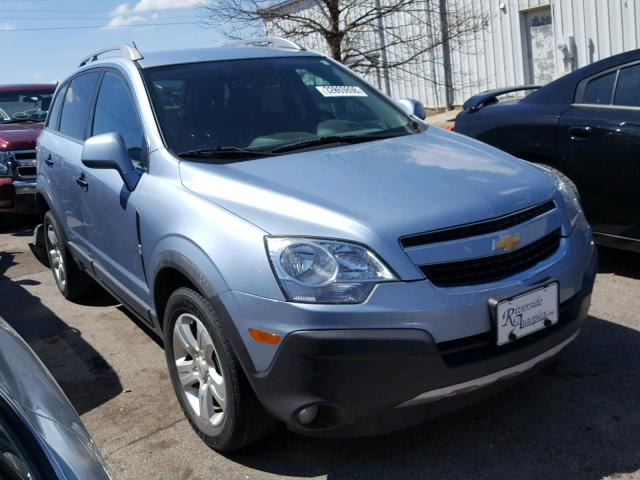 Sold 2013 CHEVROLET CAPTIVA salvage car