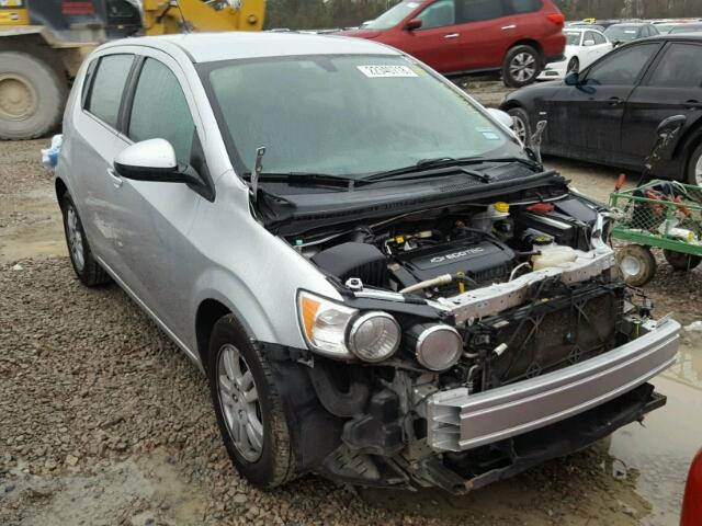 Sold 2014 CHEVROLET SONIC salvage car
