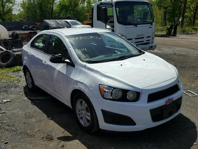 Sold 2015 CHEVROLET SONIC salvage car