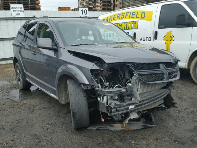 Sold 2015 DODGE JOURNEY salvage car