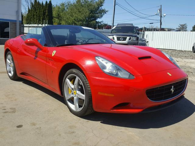 Sold 2014 FERRARI ALL MODELS salvage car