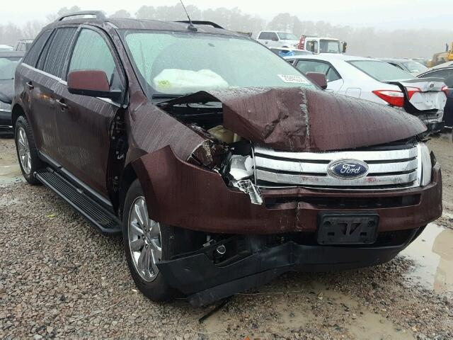 Sold 2010 FORD EDGE salvage car