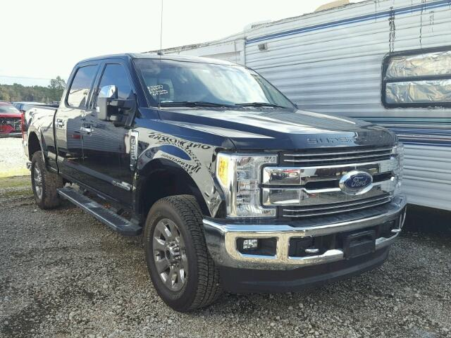 Sold 2017 FORD F250 salvage car