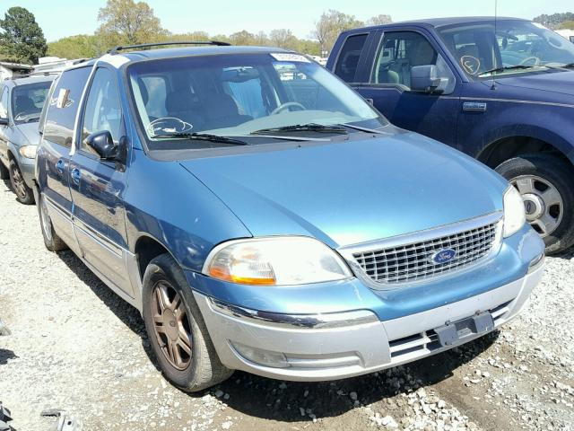 Sold 2001 FORD WINDSTAR salvage car