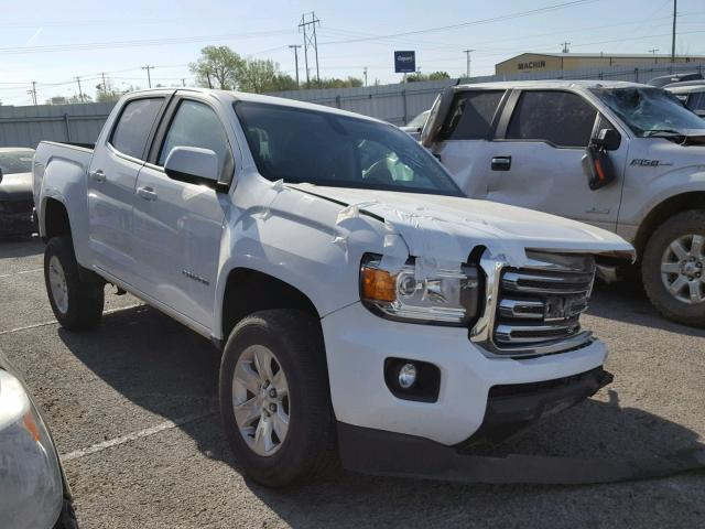 Sold 2017 GMC CANYON salvage car