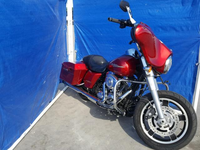 Sold 2012 HARLEY-DAVIDSON FLHX salvage car