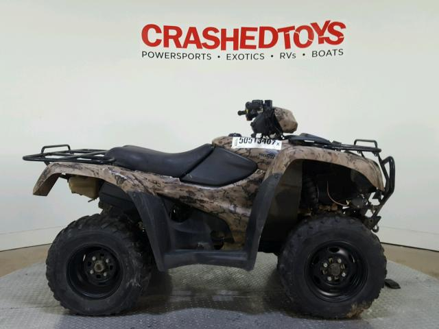 Sold 2012 HONDA ATV salvage car