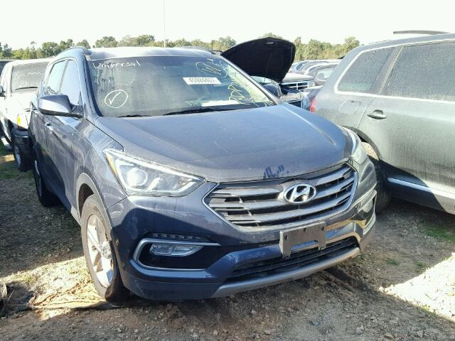 Sold 2017 HYUNDAI SANTA FE salvage car