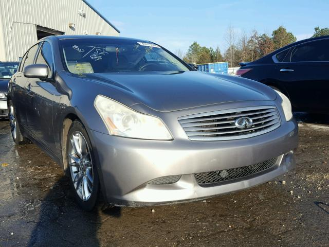 Sold 2007 INFINITI G35 salvage car