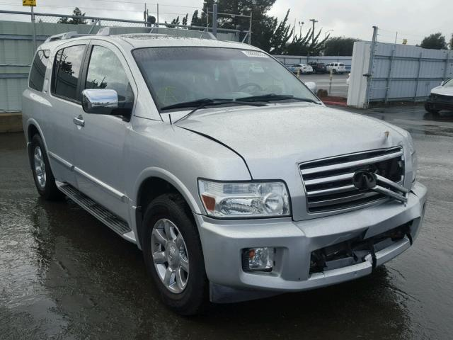 Sold 2005 INFINITI QX56 salvage car