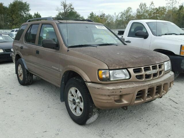 Sold 2001 ISUZU RODEO salvage car