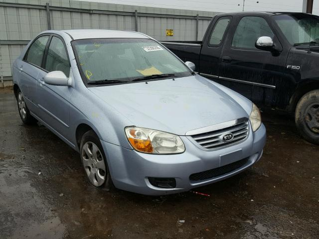 Sold 2007 KIA SPECTRA salvage car