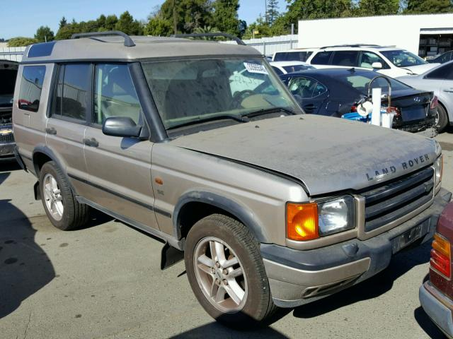 Sold 2002 LAND ROVER DISCOVERY salvage car