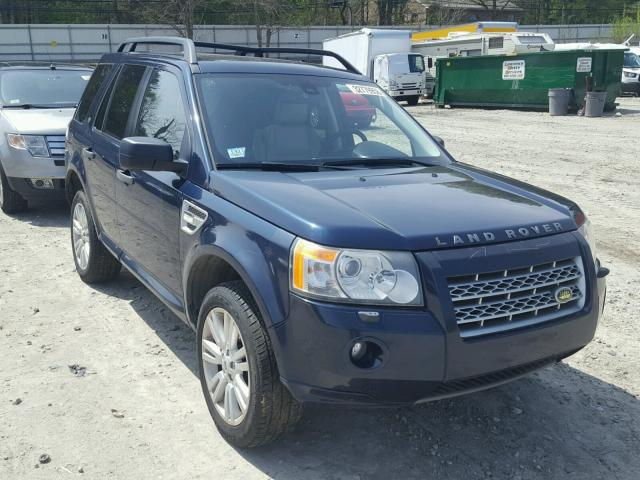 Sold 2009 LAND ROVER LR2 salvage car