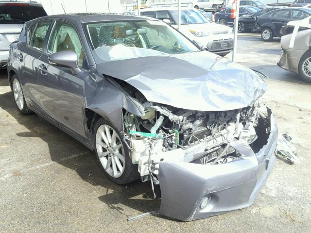 Sold 2012 LEXUS CT 200 salvage car