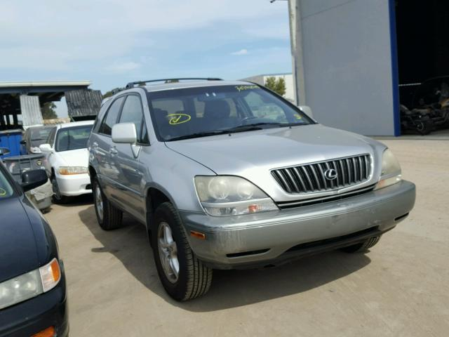 Sold 2000 LEXUS RX300 salvage car