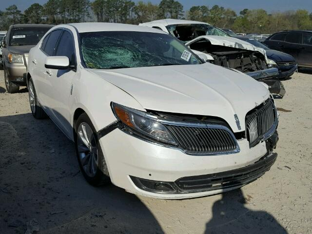 Sold 2016 LINCOLN MKS salvage car