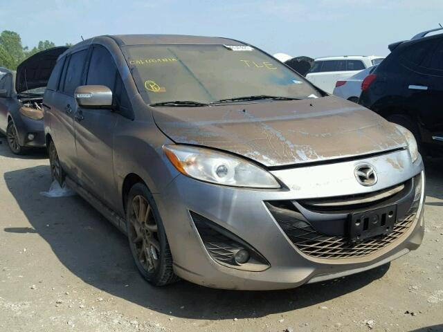 Sold 2015 MAZDA 5 salvage car