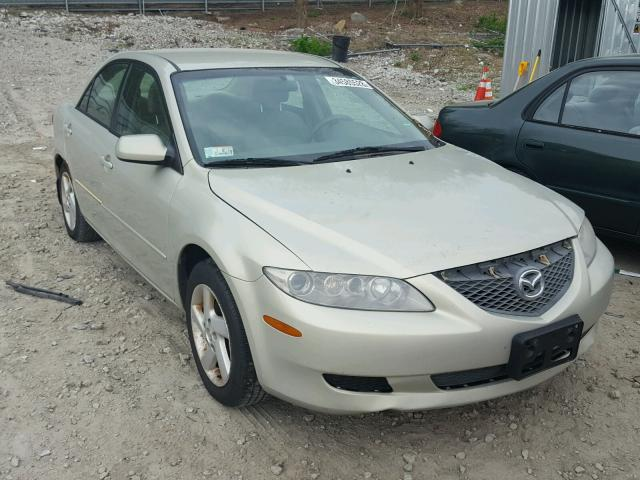 Sold 2004 MAZDA 6 salvage car