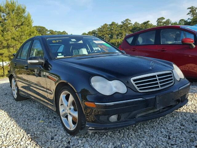 Sold 2006 MERCEDES-BENZ C GENERATI salvage car