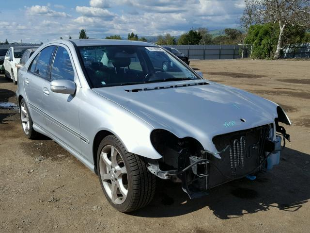 Sold 2007 MERCEDES-BENZ C salvage car