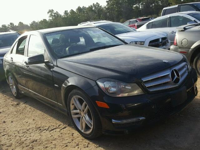 Sold 2012 MERCEDES-BENZ C salvage car