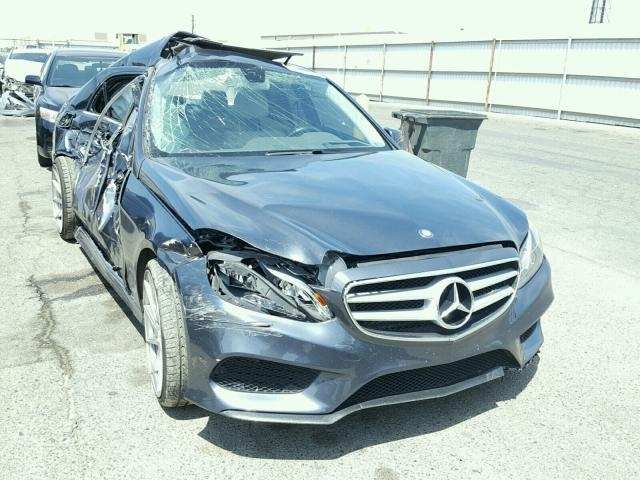 Sold 2014 MERCEDES-BENZ E300 salvage car