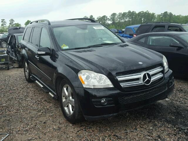 Sold 2007 MERCEDES-BENZ GL salvage car
