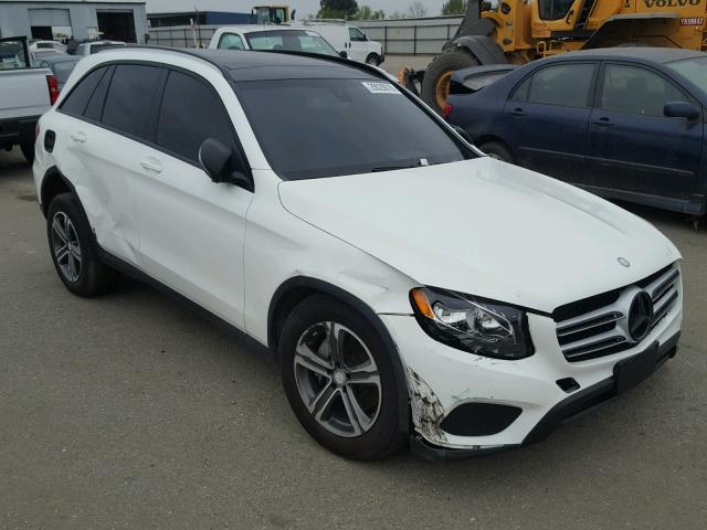 Sold 2016 MERCEDES-BENZ GLC300 salvage car