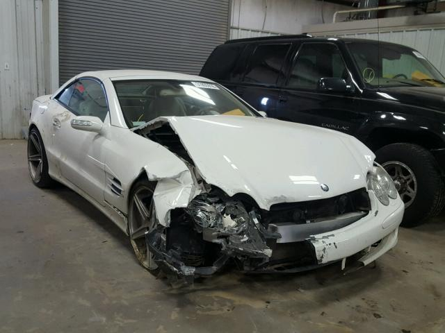 Sold 2006 MERCEDES-BENZ SL salvage car