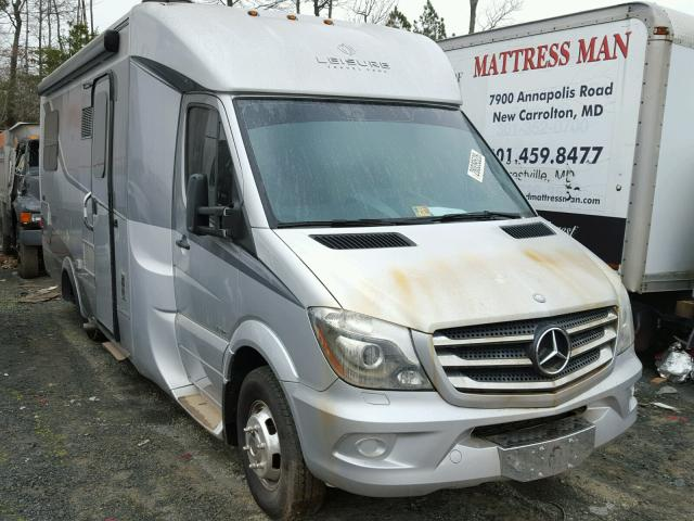 Sold 2015 MERCEDES-BENZ SPRINTER salvage car
