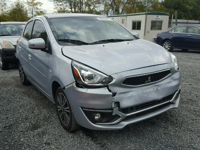 Sold 2017 MITSUBISHI MIRAGE salvage car