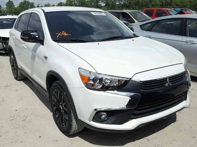 Sold 2017 MITSUBISHI OUTLANDER salvage car