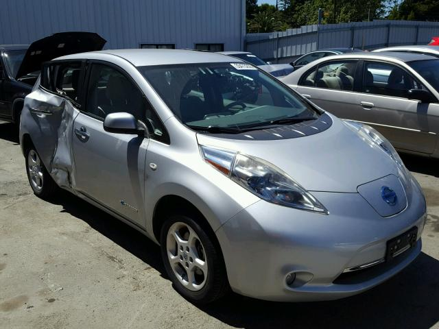 Sold 2011 NISSAN LEAF salvage car