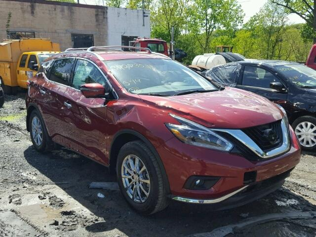 Sold 2018 NISSAN MURANO salvage car