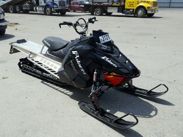 Sold 2016 POLARIS SNOWMOBILE salvage car