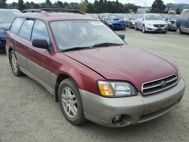 Sold 2002 SUBARU LEGACY salvage car