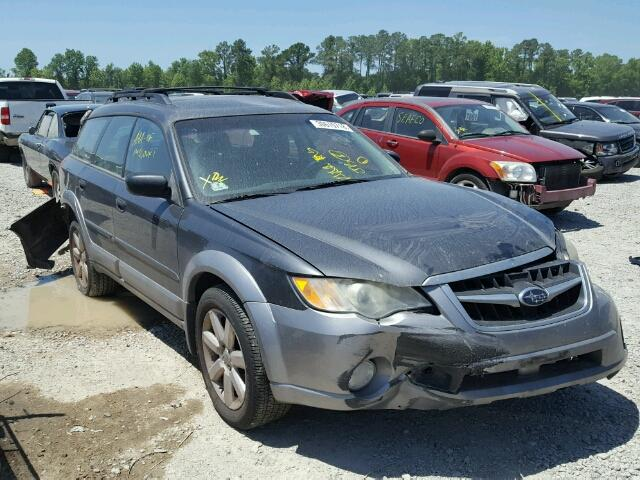Sold 2009 SUBARU OUTBACK salvage car