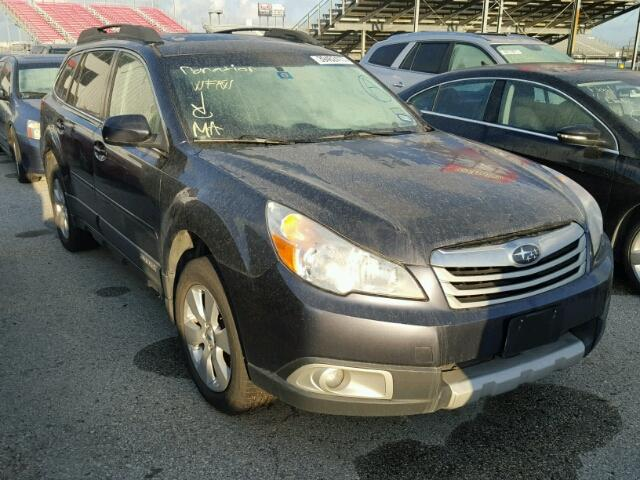 Sold 2012 SUBARU OUTBACK salvage car