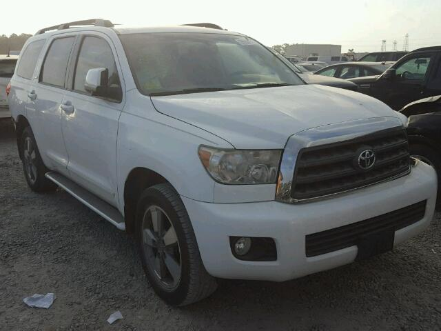 Sold 2008 TOYOTA SEQUOIA salvage car