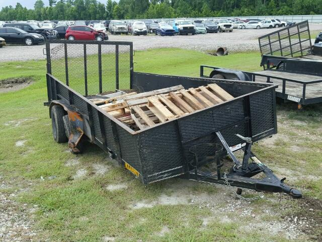 Sold 2014 UTILITY TRAILER salvage car