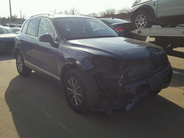 Sold 2013 VOLKSWAGEN TOUAREG salvage car