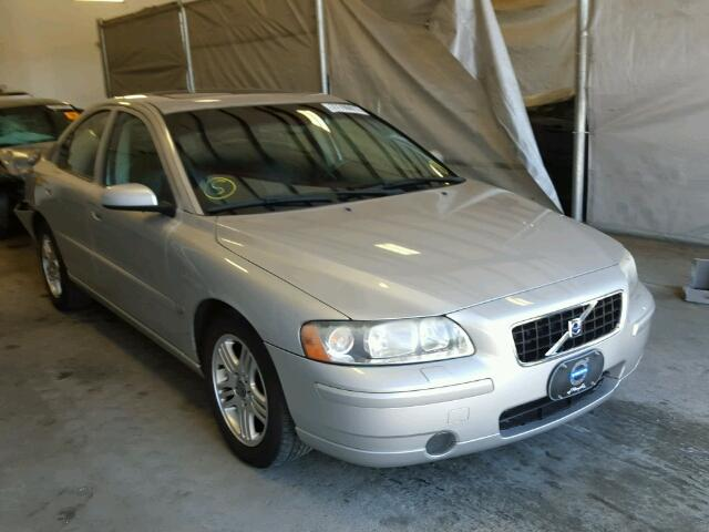 Sold 2006 VOLVO S60 salvage car