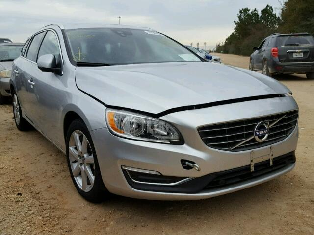 Sold 2017 VOLVO V60 salvage car