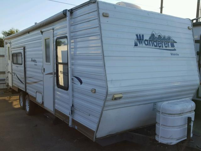 Sold 2003 WAND TRAILER salvage car